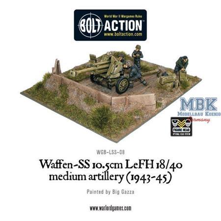 Bolt Action: Waffen-SS 10.5cm leFH 18/40 (1943-45)