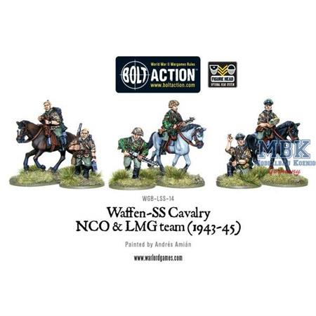 Bolt Action: Waffen-SS Cavalry NCO & LMG 1942-45