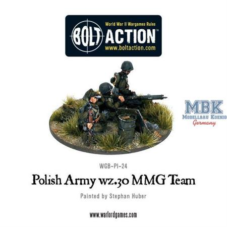 Bolt Action: Polish Army wz.30 MMG team