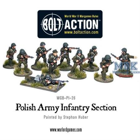 Bolt Action: Polish Army infantry section