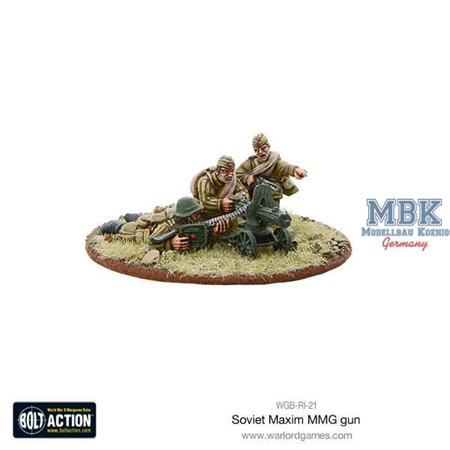 Bolt Action: Soviet Maxim MMG Team