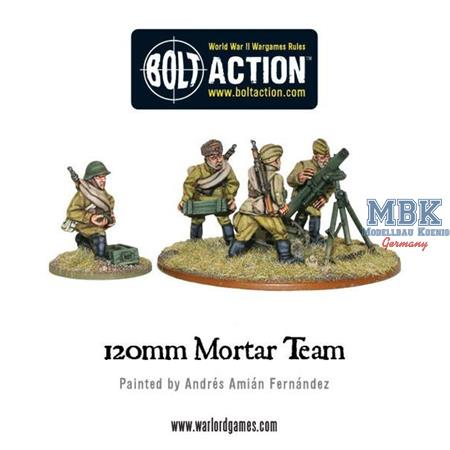 Bolt Action: Soviet Army 120mm heavy mortar