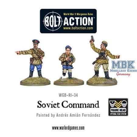 Bolt Action: Soviet command
