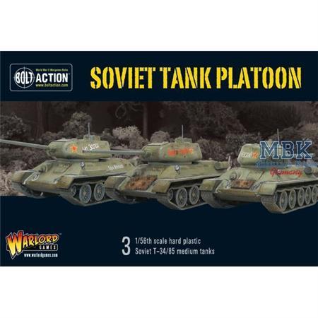 Bolt Action: Soviet tank platoon - T34/85