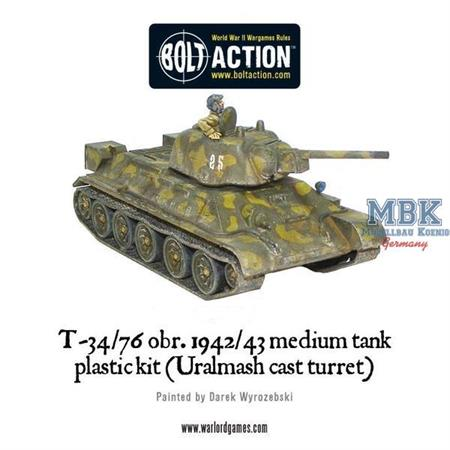 Bolt Action: Soviet T34/76 platoon