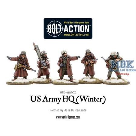 Bolt Action: US Army HQ (Winter)