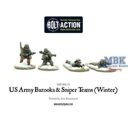 Bolt Action: US Army Bazooka and Sniper teams