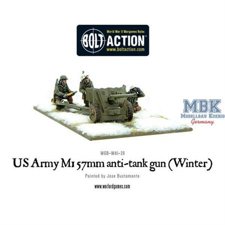 Bolt Action: US Army 57mm anti-tank gun M1