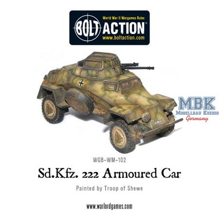 Bolt Action: Sd.Kfz 222