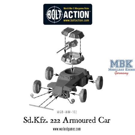 Bolt Action: Sd.Kfz 222
