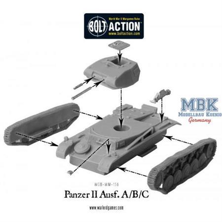 Bolt Action: Panzer II Ausf. A/B/C