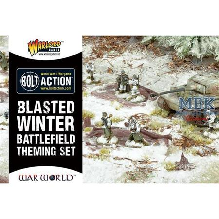 Bolt Action: Blasted Winter Battlefield Set