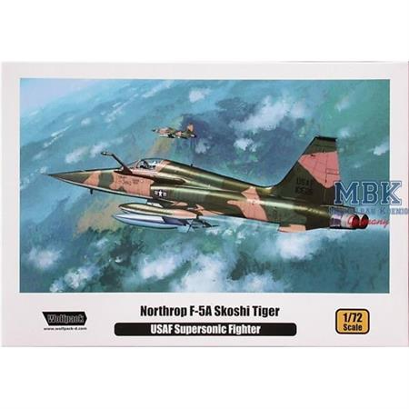 Northrop F-5A Skoshi Tiger USAF Supersonic Fighter
