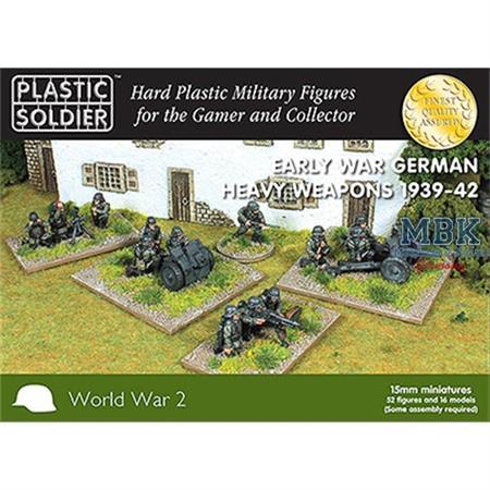 Early War German Heavy Weapons 15mm