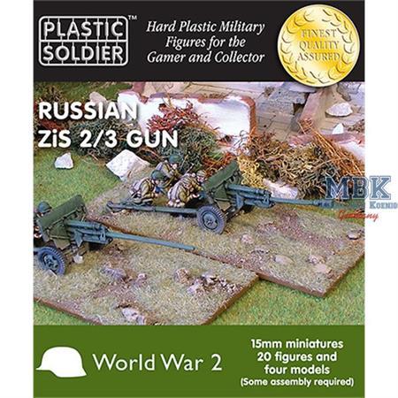 Russian Zis2/3 anti tank and field gun 15mm