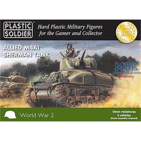 Allied M4A1 75mm Sherman 15mm
