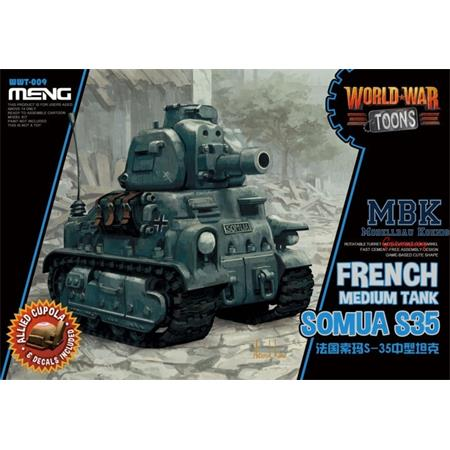 World War Toons Somua S35 French Medium Tank