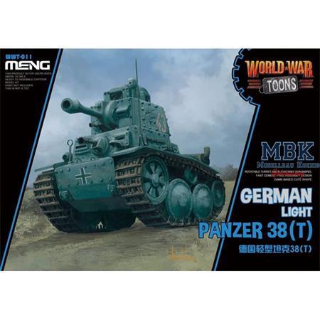 World War Toons German Light Panzer 38(T)