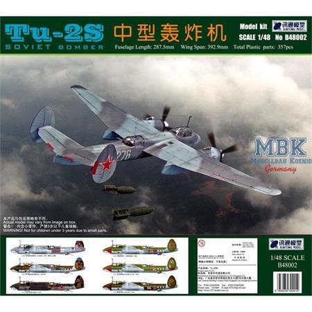 Tu-2S Soviet Bomber