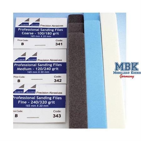 Sandpapierfeile 120/240er Körnung