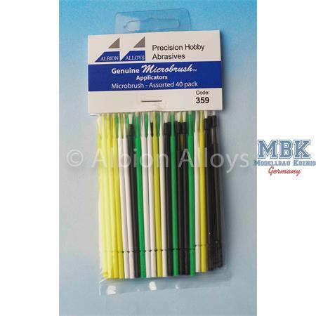 Microbrush Applicators Assorted Pack (Pcs 40)