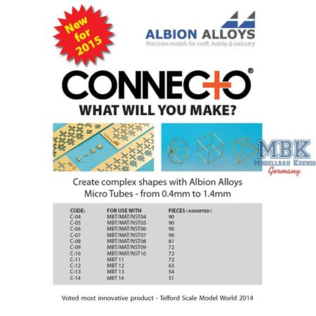 PE Connecto Crosses / Verbindungsstücke 1,3mm