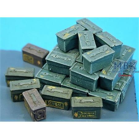 7.62mm Ammunition boxes (loose SLR)