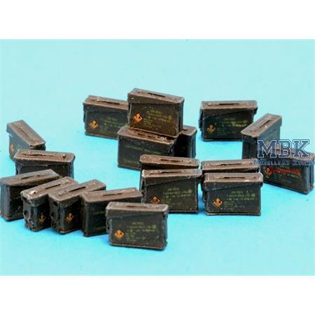 7.62mm Ammunition boxes (gpmg belts)