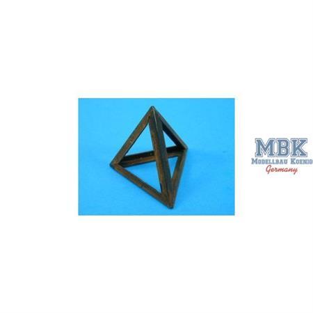 Girder Tetrahedra Anti-Tank Obstacles (Qty-8)