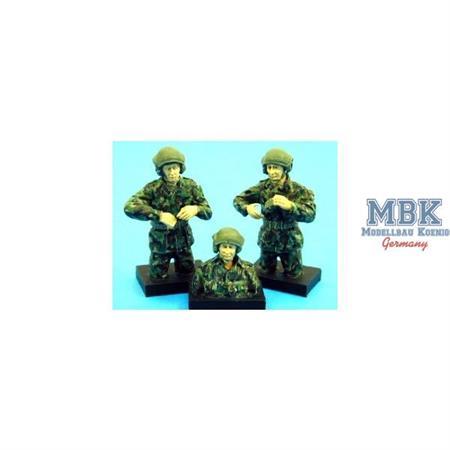 Modern UK AFV Crew (NATO/Europe) 3 Man