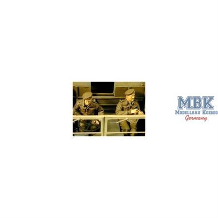 WW2 UK MATADOR Crew Set (Royal Artillery Driver &