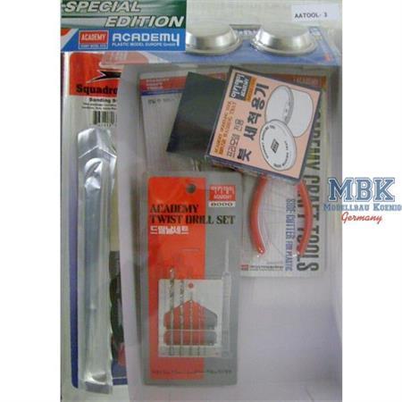 Modellbau Werkzeug Set im Blister