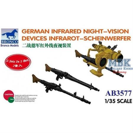 German Infrared Night -Vision Devices
