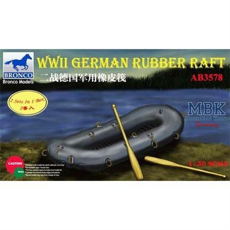 WWII German Rubber raft