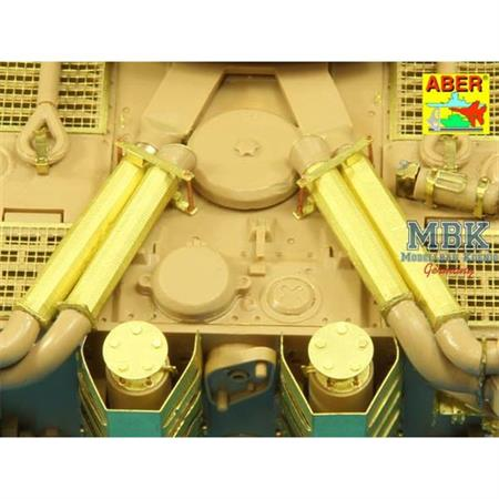 Feifel air cleaners tubes Tiger I Ausf E