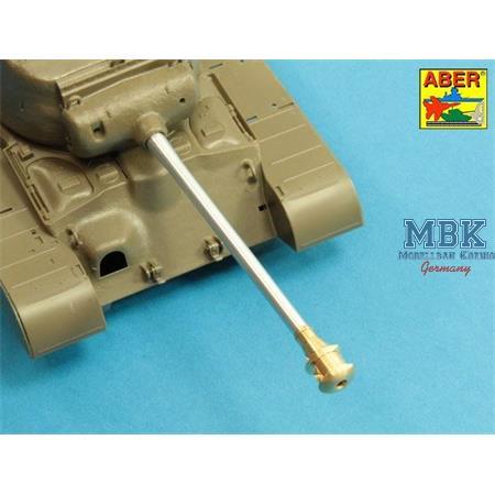 90mm M3 barrel w/muzzle brake vor T26E3 Pershing