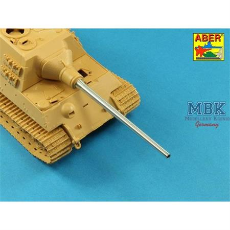 128mm PaK 44 L/55 gun barrel Sd Kfz 186 Jagdtiger