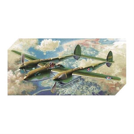 """P-38F Lightning \""""Glacier Girl\"""""""