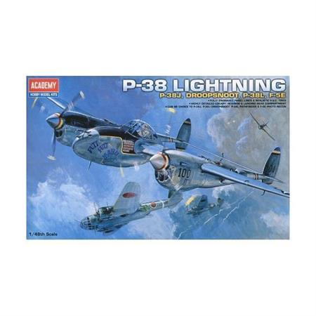 P-38J / L / Droop Snoot / F5E Lightning