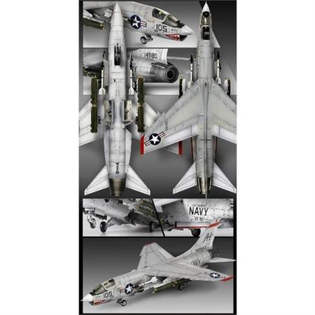 "F-8E Crusader ""VF-111 Sundowners"""