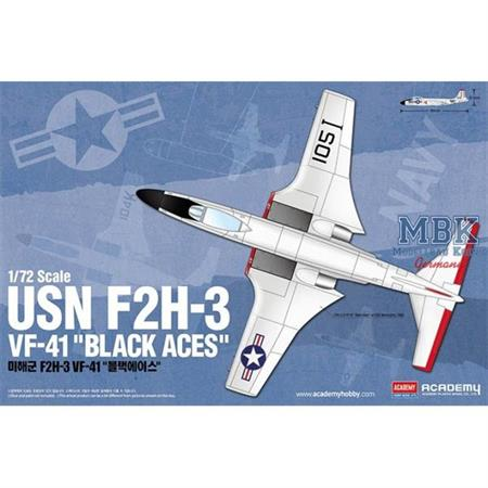 "USN F2H-3 VF-41 ""Black Aces"""