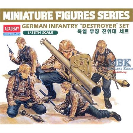 "German Infantry ""Destroyer"" Set"