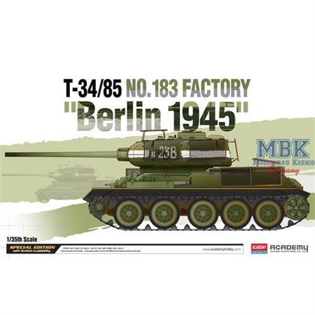"T-34/85 NO.183 Factory - ""Berlin 1945"""
