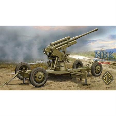 52-K 85mm Soviet Heavy AA Gun (early version