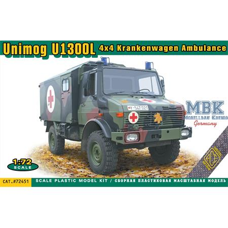 UNIMOG U1300L 4x4 Krankenwagen Ambulance