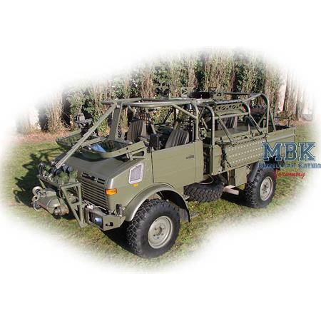 JACAM 4x4 Unimog for long-range patrol mission
