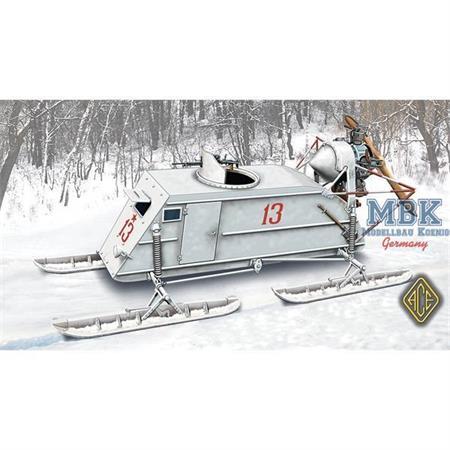 NKL-26 Soviet WW2 Aerosan