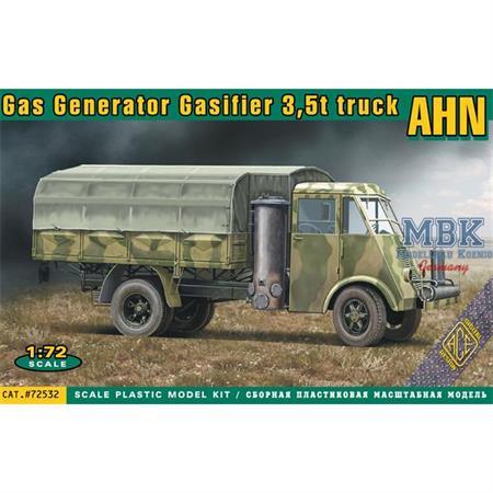 AHN 3,5t truck Gas Generator