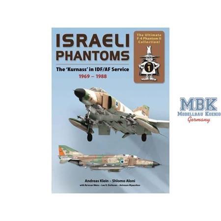 Israeli Phantoms in IDF/AF Service 1969-1988