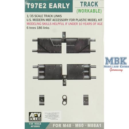 M48 & M60 Track / Ketten early type